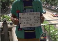 [홍콩] 기자의 눈 - Begpacker들이 환영받지 못하는 이유 '구걸행위가 취미활동이다?'