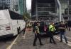 캐나다플레이스 관광버스 교통 사망사고