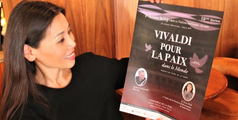 이미아, 한불친선콘서트 열두 번째 이야기 « 평화를 위한 비발디 »