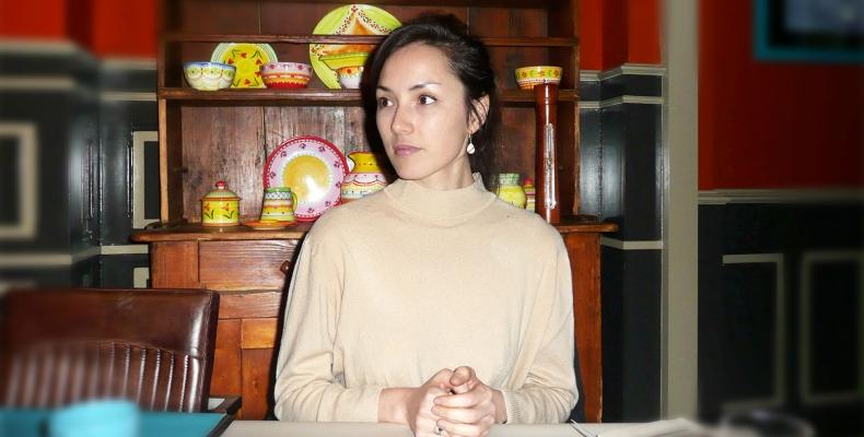 소설가 엘리자 슈아 뒤사팽 ''글쓰기는 나를 찾아 떠나는 여정''