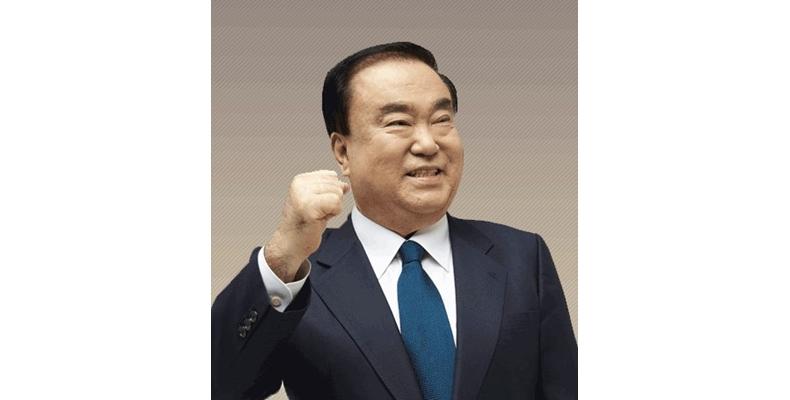 """""""한러 의회협력 확대"""" 문희상의장 러언론 인터뷰"""