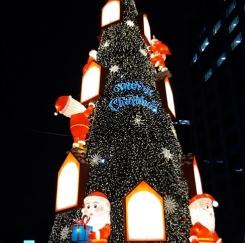 청계천에서 만난 크리스마스